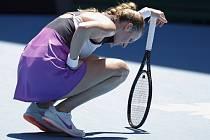Petra Kvitová po neúspěchu na Australian Open