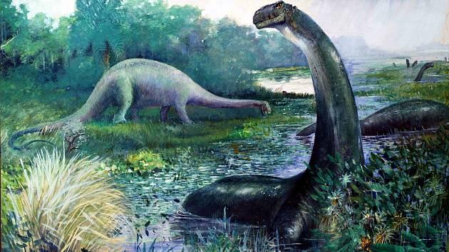 Teorii o tom, že Brontosaurus byl vodní zvíře, věda odmítla, ale nové indicie naznačují, že s mělkou vodou se přece jen mohl kamarádit