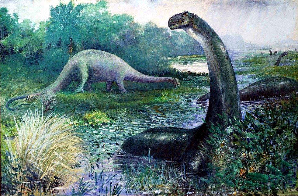 Velikost Brontosaura vedla kdysi vědce k úvahám, že ho nadnášela voda a dlouhý krk používal jako šnorchl. Tuto hypotézu všda nakonec odmítla, ale některé indicie naznačují, že s mělkou vodou se přece jen mohl kamarádit