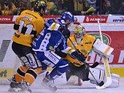 Litvínov - Brno: Druhý zápas série a pozorný Pavel Francouz