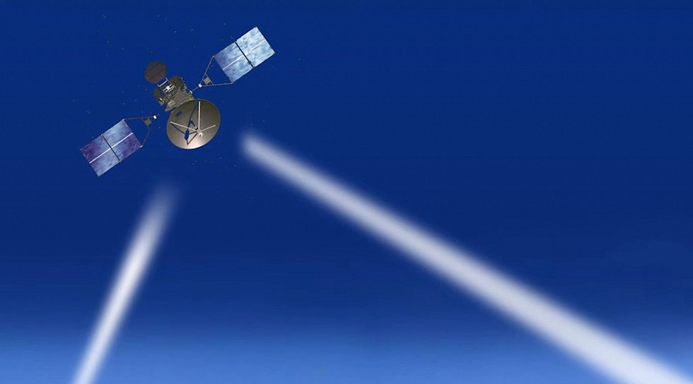 K průzkumu byla využita také satelitní technologie