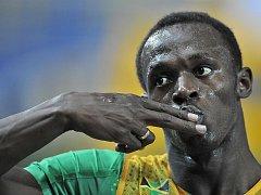 Usain Bolt v Berlíně vyhrál i finále běhu na 200 metrů ve světovém rekordu.