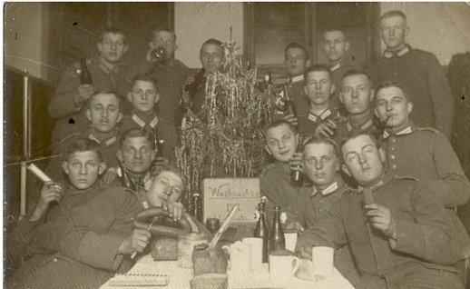 Válečné Vánoce 1917