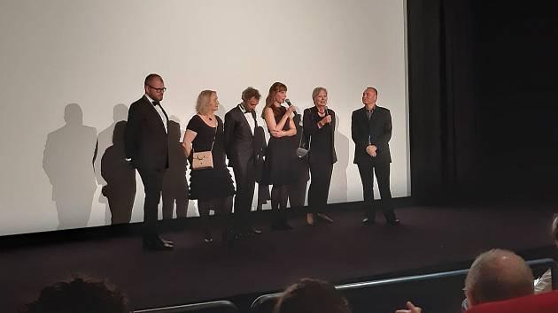 Helena Třeštíková na festivalu v Cannes