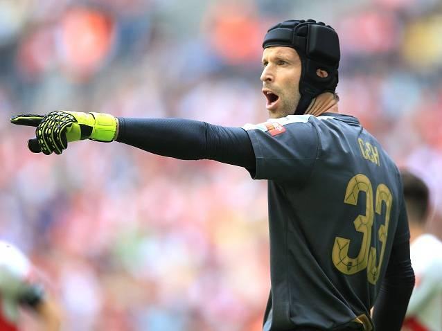 Arsenal - Chelsea: Petr Čech