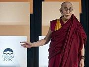 Tibetský duchovní vůdce dalajlama.