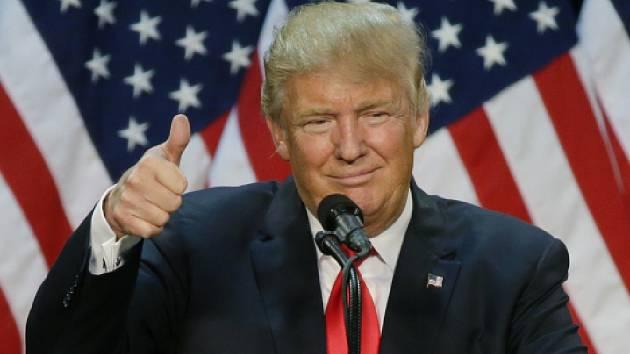 Miliardář Donald Trump.