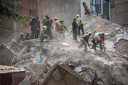 Zemětřesení v Nikaragui poničilo desítky domů.