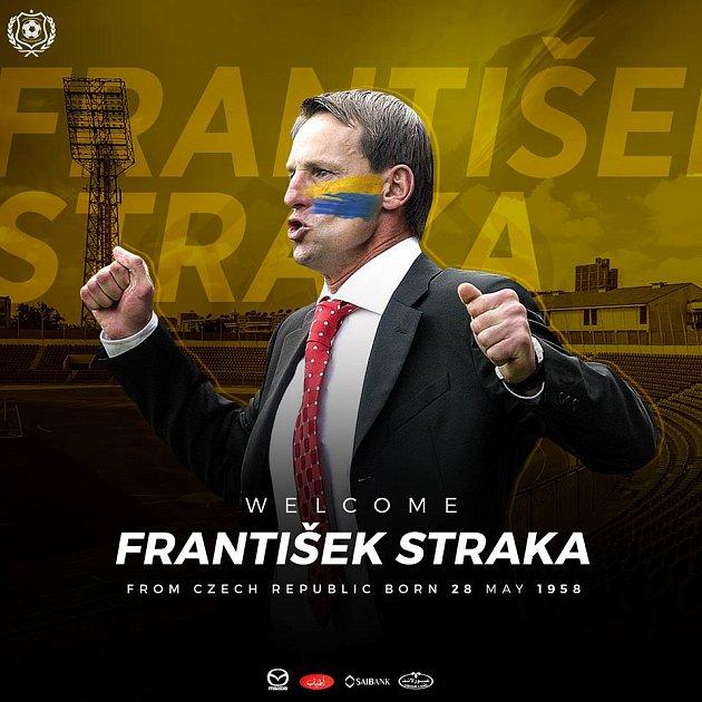 Takto ohlásil egyptský klub na svém facebooku angažování českého trenéra Františka Straky.