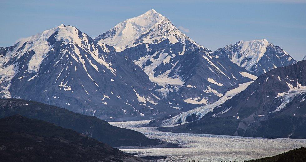 Ledovec Knik je součástí Chugachského státního parku