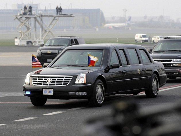 Tato limuzína sloužila Baracku Obamovi od roku 2009.