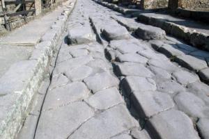 Silnice v Pompejích