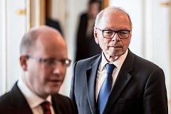 Prezident Milos Zeman jmenoval 24. května na Pražském hradě Ivana Pilného ministrem financí.