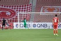 Katarská fotbalová liga. Ilustrační snímek