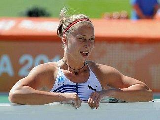 Jiřina Ptáčníková si v Barceloně užila pohodovou kvalifikaci.