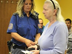 Obžalovaná sedmdesátiletá Marie Panská.