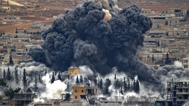 Válka v Sýrii, ilustrační foto.