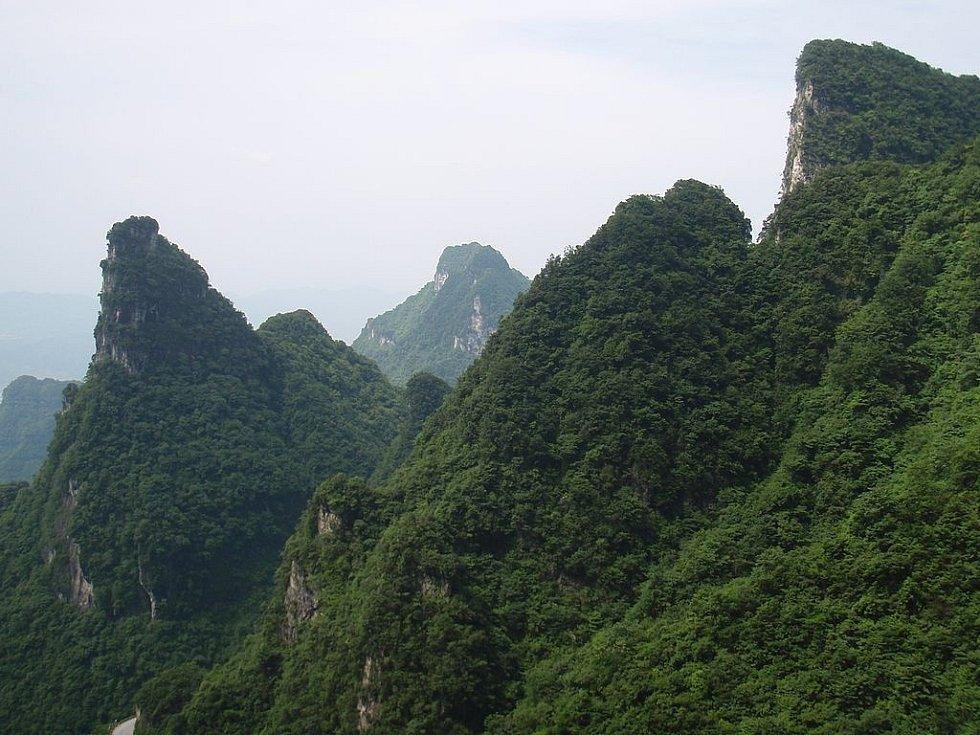 Čang-ťia-ťie je jeden z největších a nejproslulejších přírodních parků v Číně