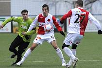 Slavia půjde do jara z prvního místa se slušným náskokem.