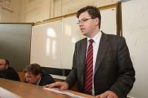 Jiří Pospíšil, děkan právnické fakulty v Plzni