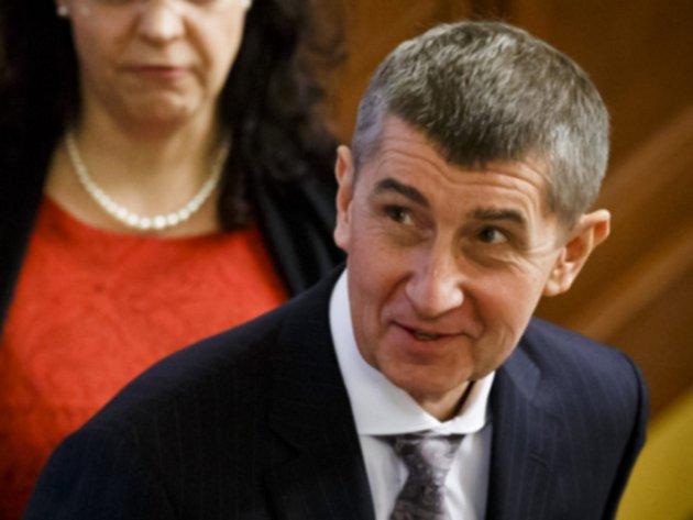 Ministr financí Andrej Babiš (ANO).