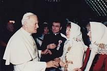 Audience u papeže Jana Pavla II. u příležitosti svatořečení Anežky České