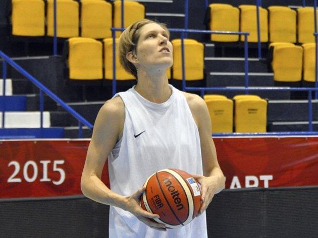 Basketbalistka Jana Veselá.
