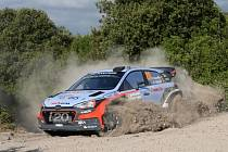 Thierry Neuville na Italské rallye.