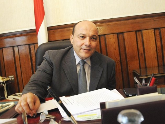 Egyptský generální prokurátor Talát Abdalláh.