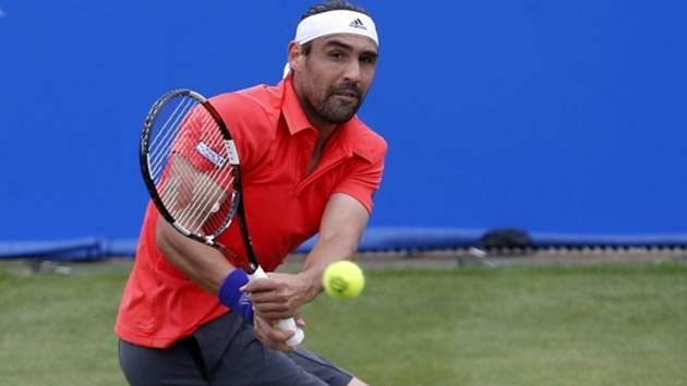 Marcos Baghdatis na turnaji v Nottinghamu.