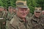 Vojenský velitel armády bosenských Srbů Ratko Mladič.
