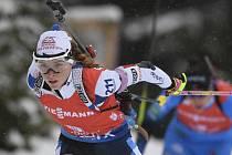 Česká biatlonistka Markéta Davidová