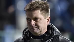 Dušan Uhrin mladší před utkáním Slavia – Kluž