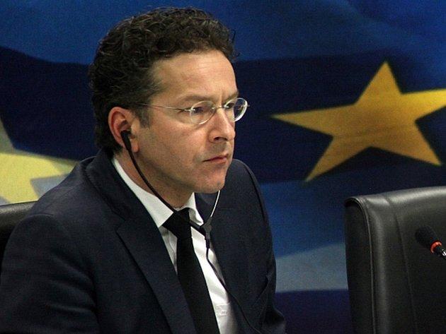 Šéf Euroskupiny Jeroen Dijsselbloem.