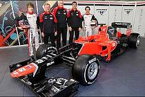 Nová stáj seriálu Formule 1 - Marussia