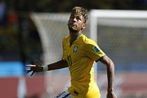 Neymar při mistrovství světa