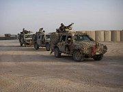 Útvar SOG v Afghánistánu, kde sloužil zabitý voják