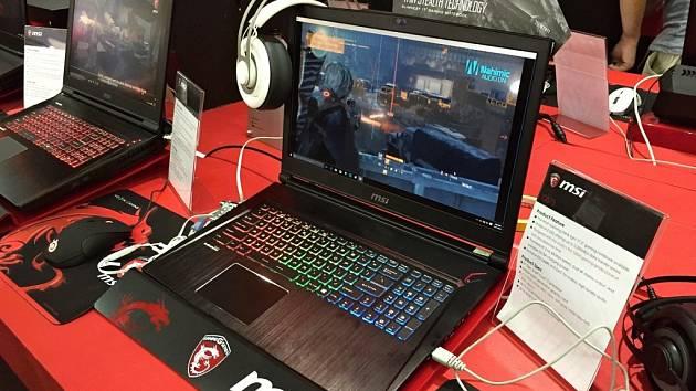 Herní notebook MSI GS63.