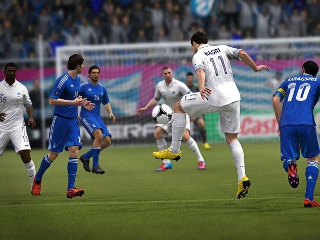 Počítačová hra UEFA Euro 2012.
