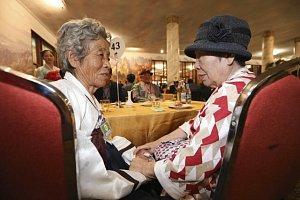 Jihokorejci se setkali se svými příbuznými