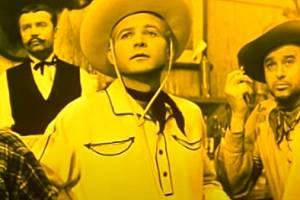 Karel Fiala ve své nejslavnější roli ve filmu Limonádový Joe.