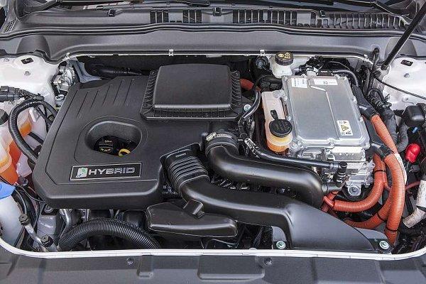 Ford Mondeo Hybrid.