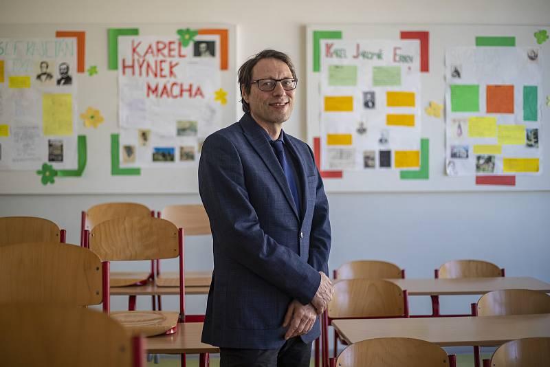 Dlouholetý ředitel Masarykovy základní školy a prezident Asociace ředitelů základních škol Michal Černý