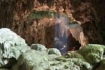 Jeskyně na filipínském ostrově Luzon, kde došlo k objevu