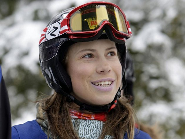 Eva Samková, česká snowboardová naděje.