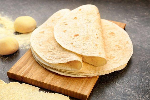 Mexické tortilly
