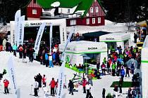 ŠKODA PARK. Mix jízdních zážitků, zimních radovánek a zábavy pro celou rodinu.