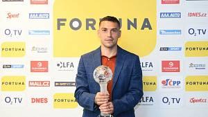Nicolae Stanciu ze Slavie Praha byl vyhlášen 9. července 2020 v Praze nejlepším cizincem sezony první fotbalové ligy.