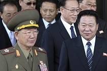 Tříčlenná delegace severokorejských představitelů z nejužšího vládního okruhu dnes překvapivě přicestovala do Jižní Koreje.