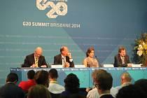 Členové skupiny G20, která sdružuje největší ekonomiky světa, se v australském Brisbane dohodli na sérii opatření, která by měla vést k obnovení růstu jejich ekonomik o 2,1 procenta v příštích pěti letech.